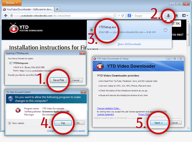 Installation instructions for Firefox